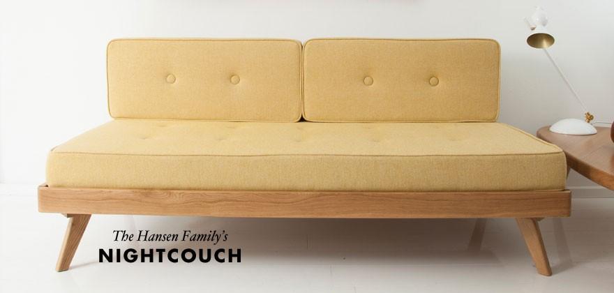 © Night Couch by Gesa Hansen for The Hansen Family
