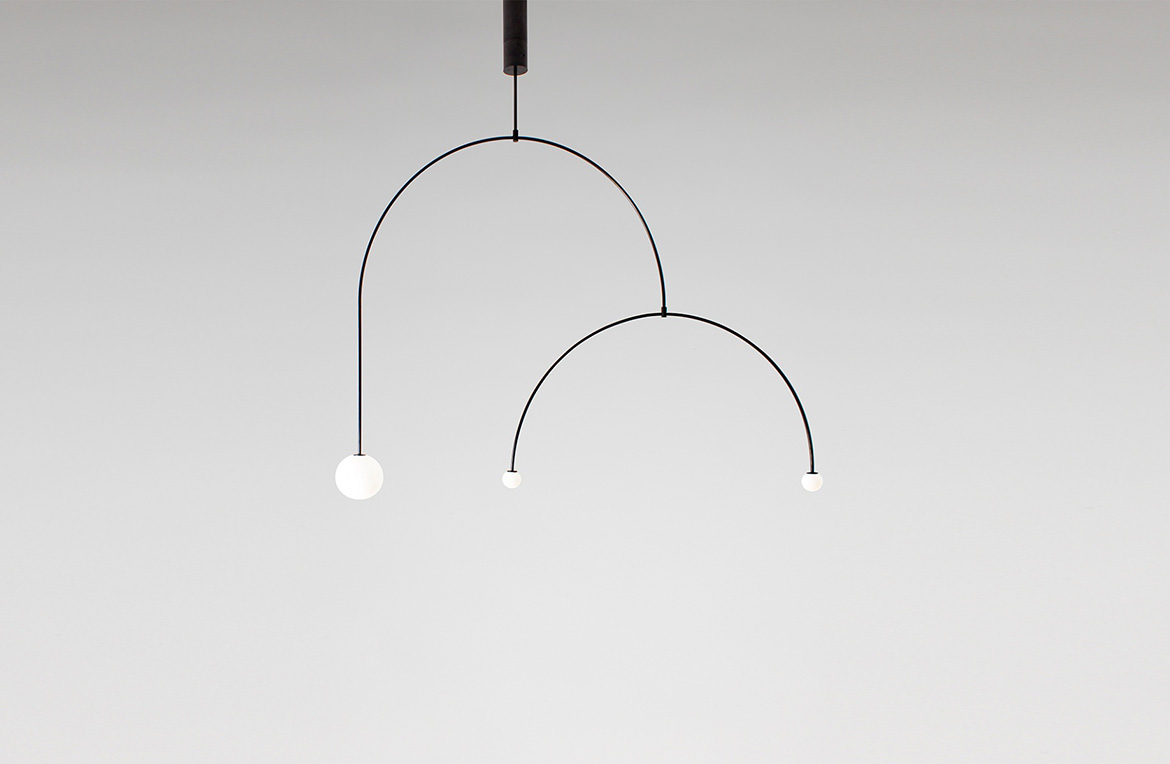 © Mobile Chandelier 9 by Michael Anastassiades
