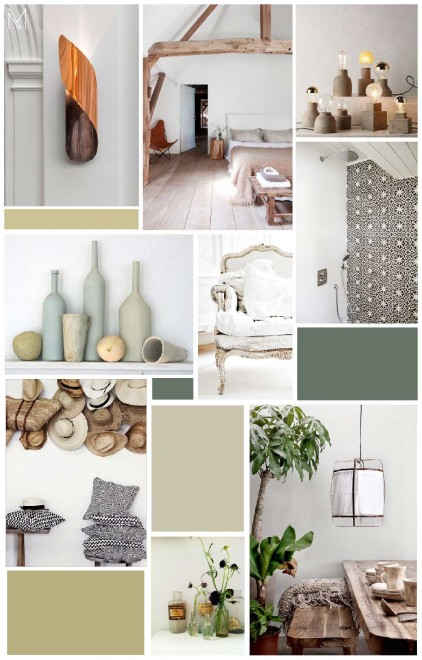 Mood boards et inspiration déco