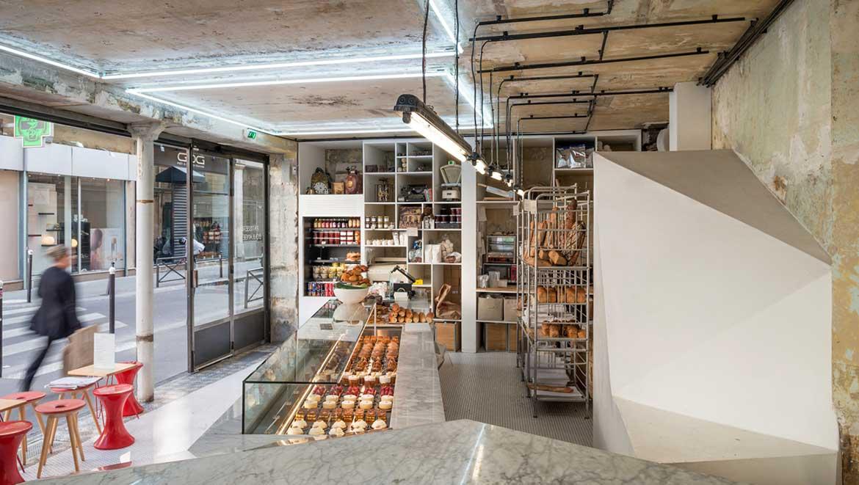 © Liberté, la pâtisserie boulangerie par Benoît Castel
