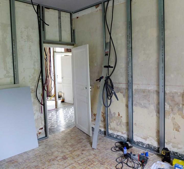 Progress report (avant-après) : la master bedroom