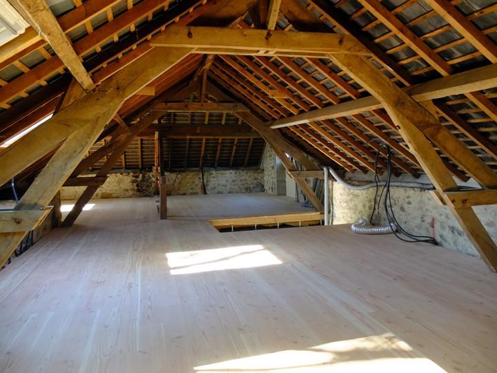 Progress report (avant-après) : l'étage