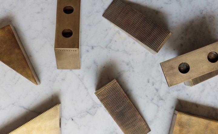 Les bougeoirs Blocks d'Apparatus