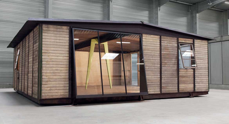 © Maison démontable de Jean Prouvé - Galerie Patrick Seguin
