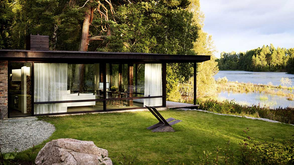 © Summer House by Architect Buster Delin - pic Patric Johansson