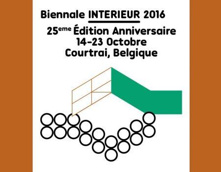 © Biennale INTERIEUR 2016