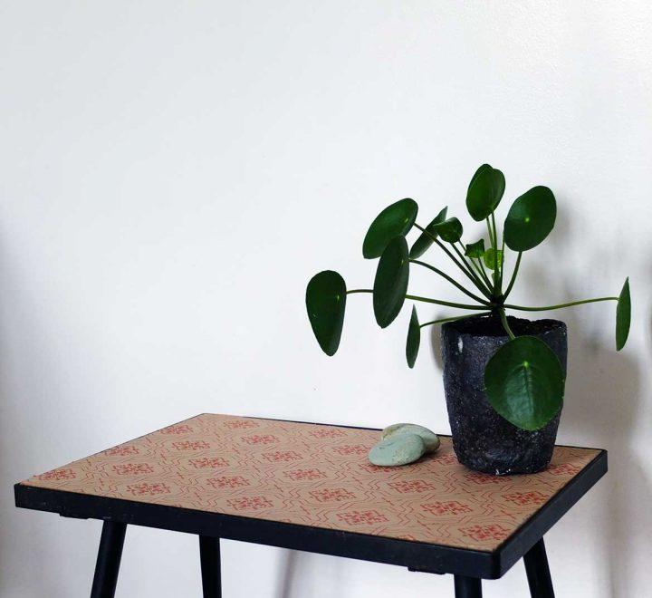 DIY Relooker avec du papier-peint