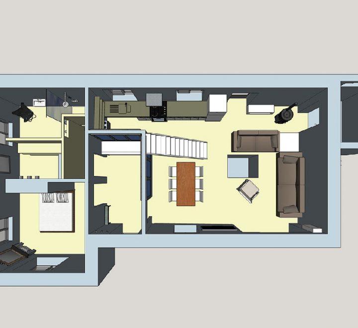 La conception 3D de son sweet home