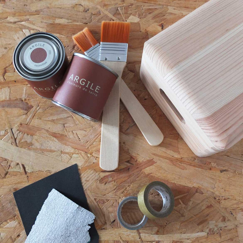 DIY Misc avec les peintures Argile