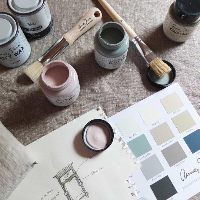 DIY Peindre avec les Chalk Paint d'Annie Sloan*