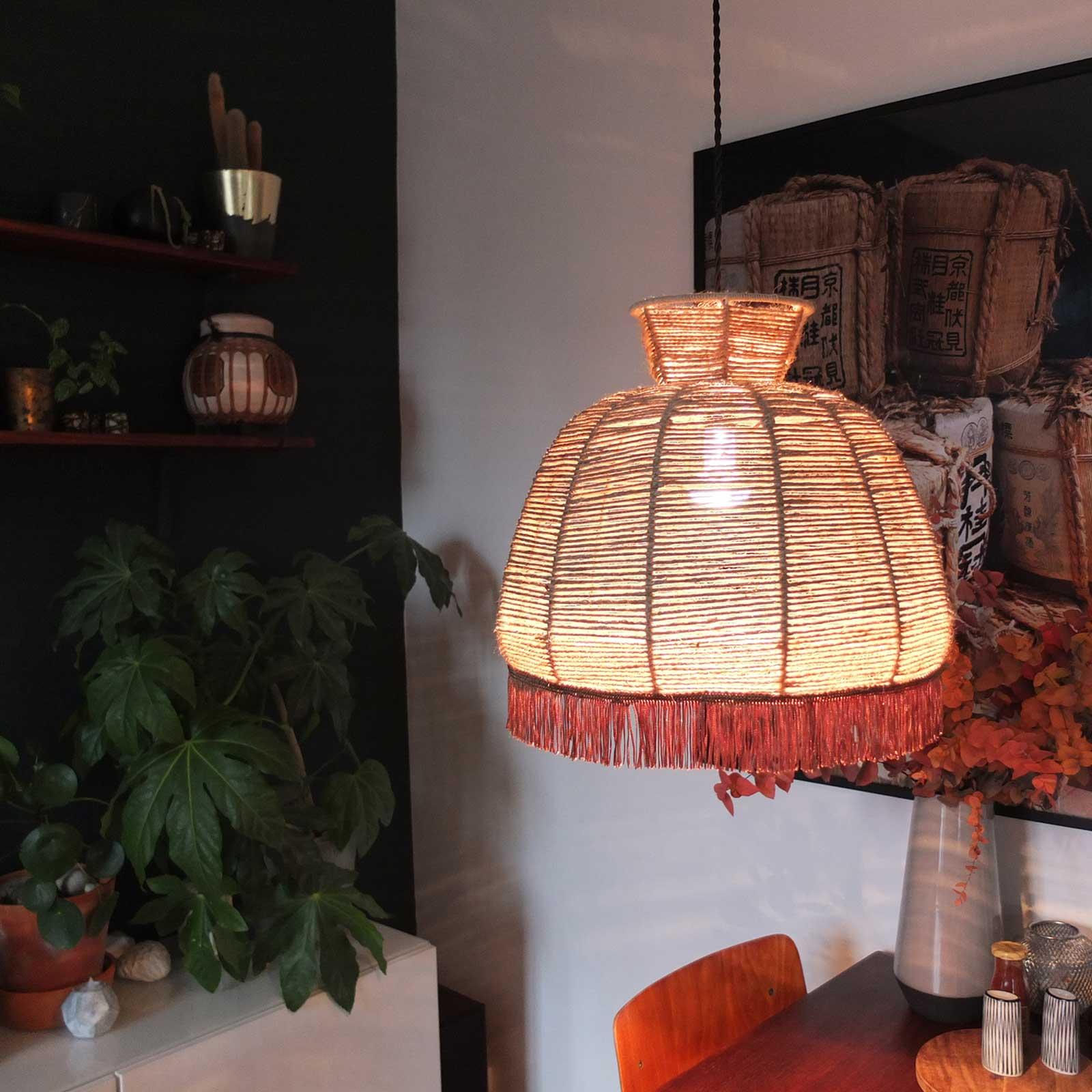 diy abat jour ficelle misc webzine. Black Bedroom Furniture Sets. Home Design Ideas