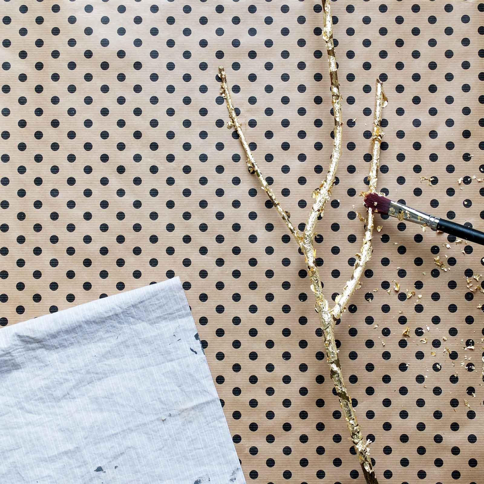 Misc_DIY Branche dorée
