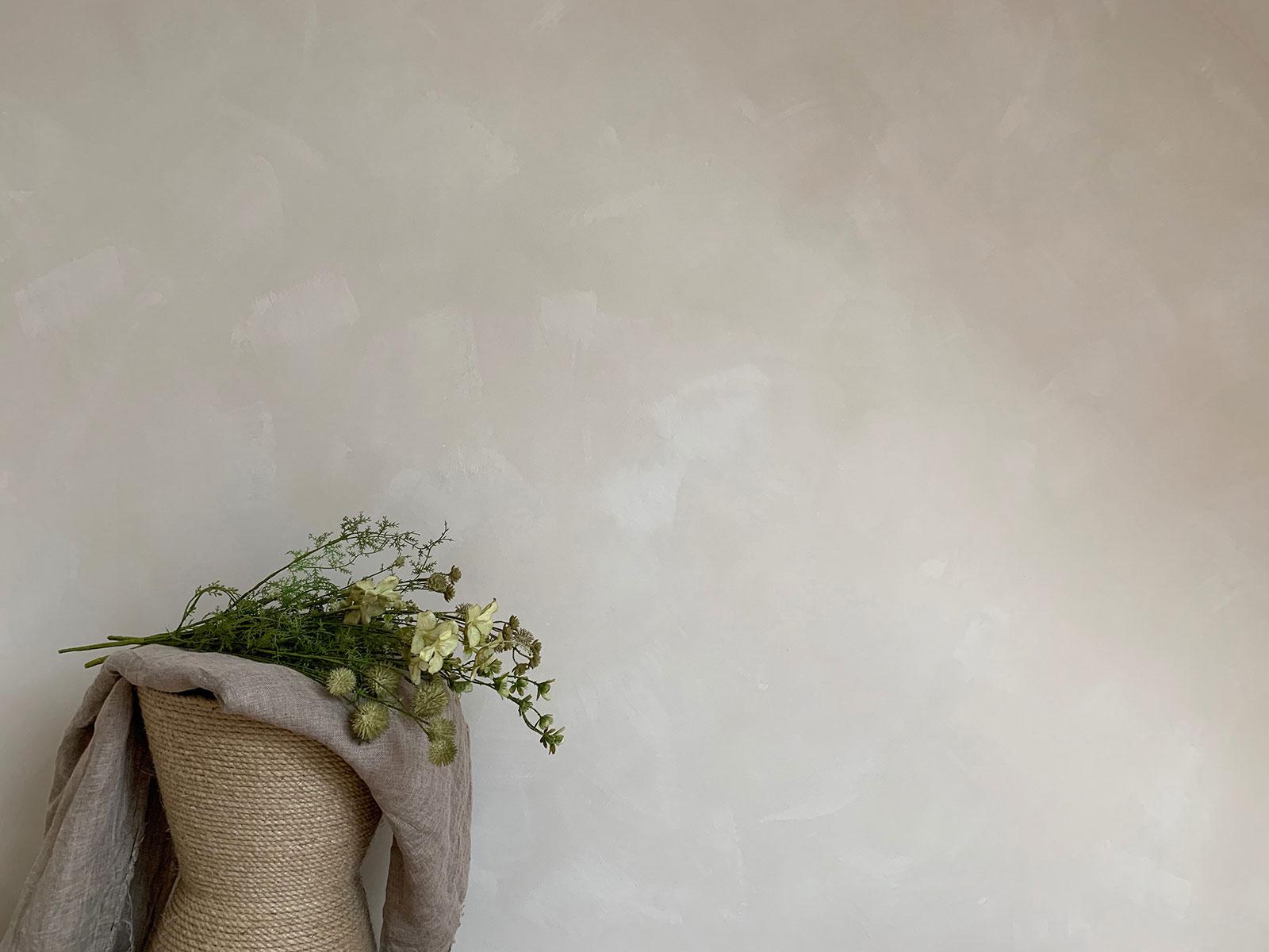 """Comment Proteger Un Mur Peint diy un mur """"texturé"""" peint à la chaux – misc webzine"""