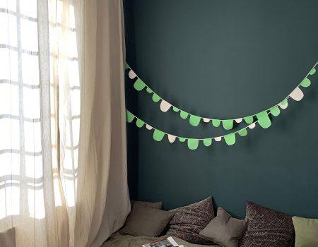 Misc Webzine - DIY Guirlande textile