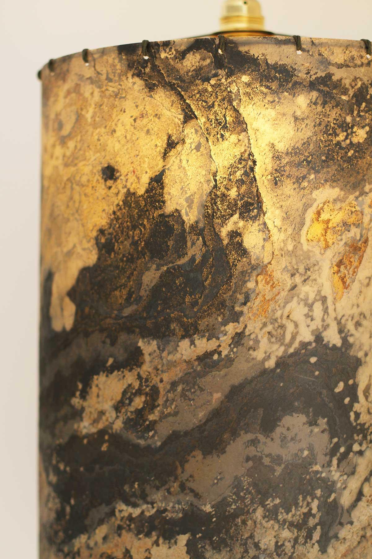 Misc Webzine DIY luminaires en feuille de pierre translucide