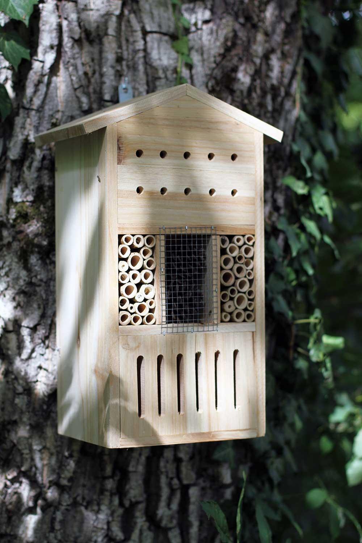 Misc Webzine - Hotel à insectes et nichoir - Graines Caillard