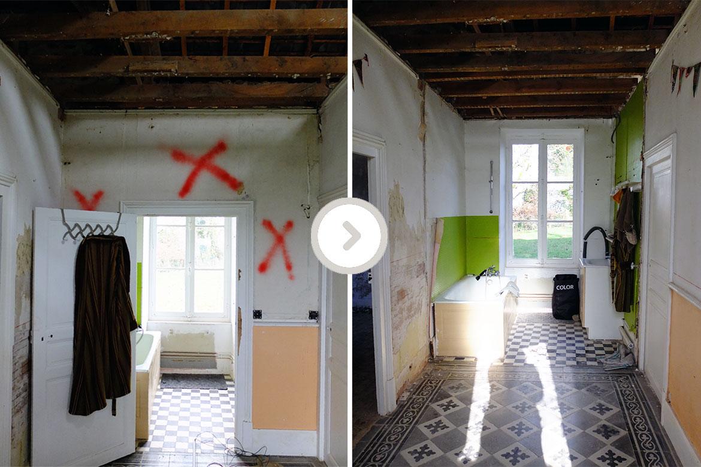 Misc Webzine_Renovation Entré Dreamhouse_Avant-Après