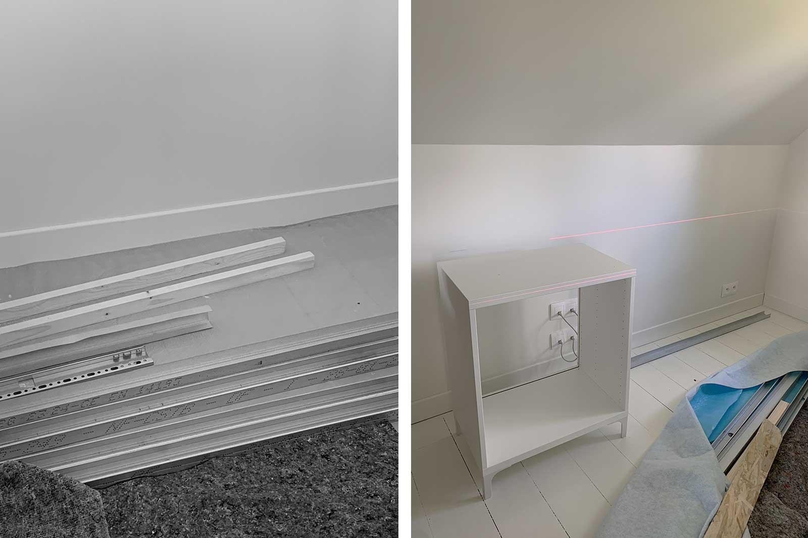 Misc Webzine - IKEA Hack rangements sous pentes